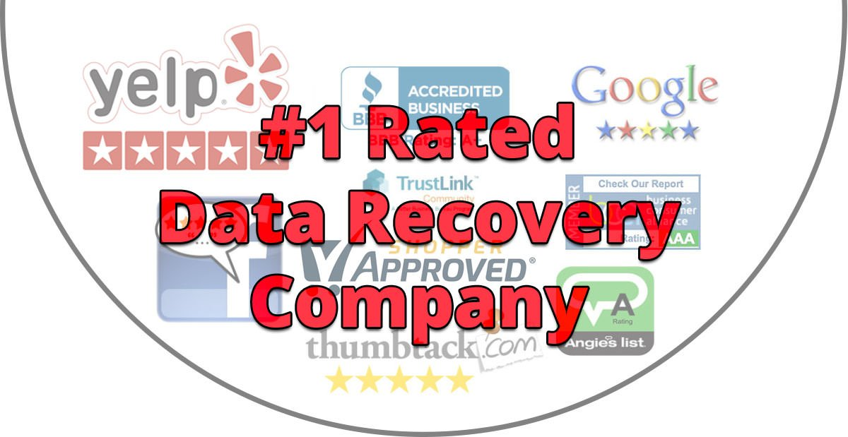 #1 rated data recovery company - los angeles - $300 Data Recovery